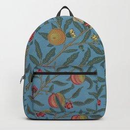William Morris Fruit and Pomegranate Vintage Print Backpack