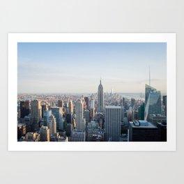 Towers - City Urban Landscape Photography Art Print