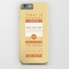 Saturday night fever. Slim Case iPhone 6s