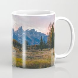 Grand Teton Sunset Coffee Mug