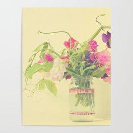 Sweet pea  Poster