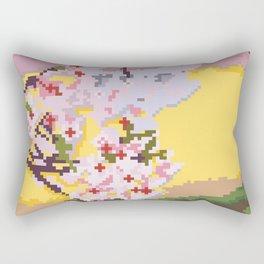 Sakura pixel Rectangular Pillow