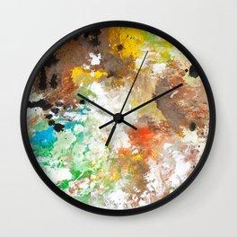Elbow Falls  Wall Clock