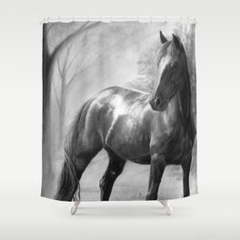 Horse V Shower Curtain