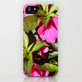 New Guinea Busy Lizzie iPhone Case
