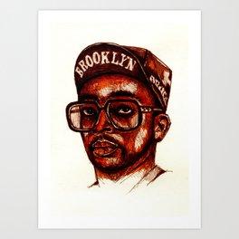-5- Art Print