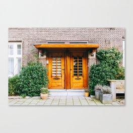 Amsterdam Zuid - Amsterdam, The Netherlands - #4 Canvas Print