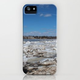 Winter on the Maumee I iPhone Case