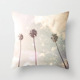 Galactic Nostalgic Throw Pillow