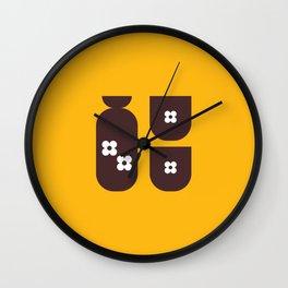 Japan Sake Wall Clock