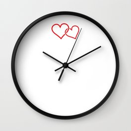 Our First Mother's Day New Mom Gift T-Shirt Wall Clock