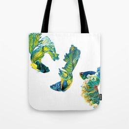 Ocean Dream- Betta Fish Tote Bag
