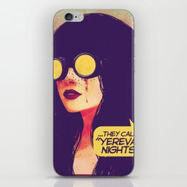 yerevan nights iPhone Skin