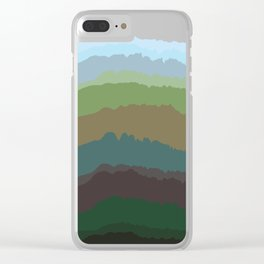 Vocalscape I Clear iPhone Case