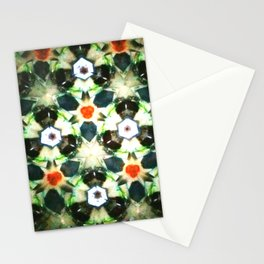 Modern Moroccan Green Stationery Cards