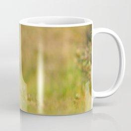 The New Kit on the Grass - Red Fox Cub Coffee Mug