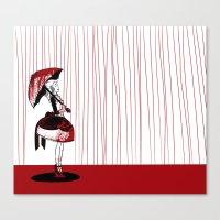 carmilla Canvas Prints featuring Carmilla by Kieran Thompson