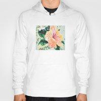 hibiscus Hoodies featuring Hibiscus by JeleataNicole
