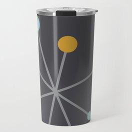 Mid Century Modern Atomic Age Pattern Travel Mug