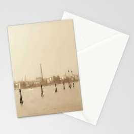 Venice in Sepia Stationery Cards