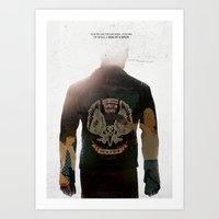 True Detective - Who Goes There Art Print