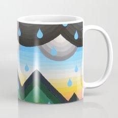 Geometric Black Bear Mug