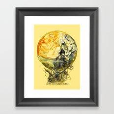 GOTTERDAMMERUNG - WAGNER- OPERA Framed Art Print