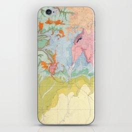 Southwest Map - Pastel iPhone Skin