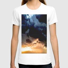 indigo sunset T-shirt