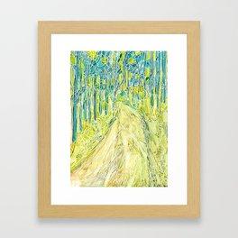 Forest 23 Framed Art Print
