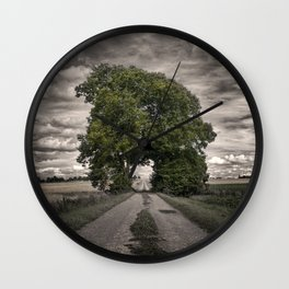 tree passage 4 Wall Clock