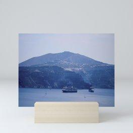 Santorini, Greece 8 Mini Art Print