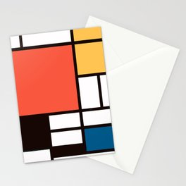 Mondrian 2 Stationery Cards