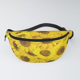 Lots of sunflowers Fanny Pack