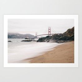 Baker beach Art Print