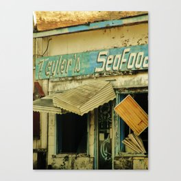Seafood Shack Canvas Print