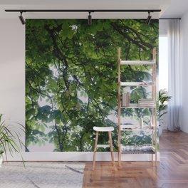 Greenery and leaf VIII Wall Mural