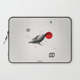 Mr. Whale Laptop Sleeve