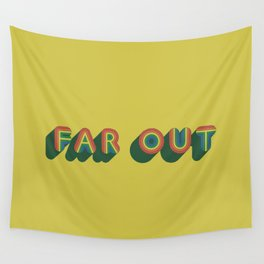 Far Out Wall Tapestry