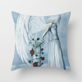 Hope Angel Throw Pillow