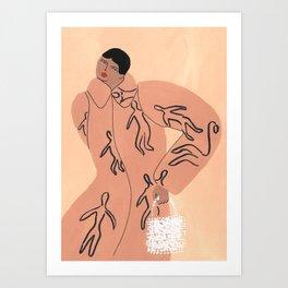 Shrimps! #2 Art Print