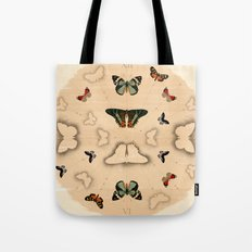 Butterfly Coordinates Tote Bag