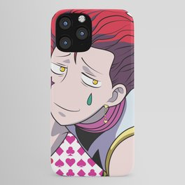 Hisoka high quality funny face iPhone Case