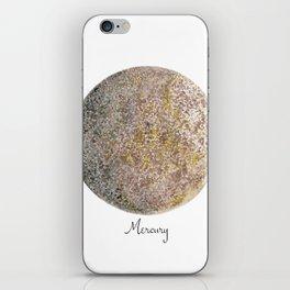 Mercury planet iPhone Skin