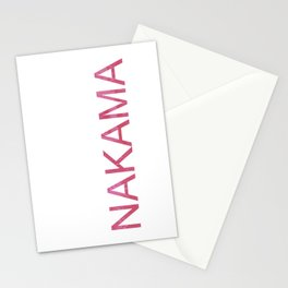 Nakama Stationery Cards