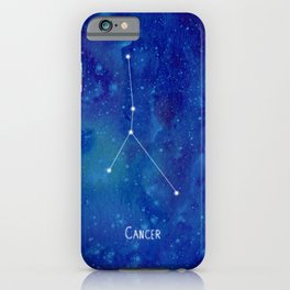 Constellation Cancer iPhone Case
