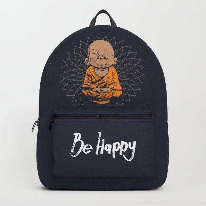 Be Happy Little Buddha Rucksack
