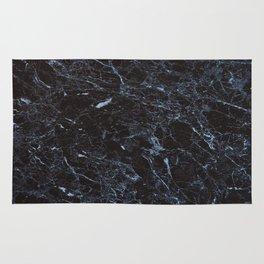 Dark blue Water Marble Rug