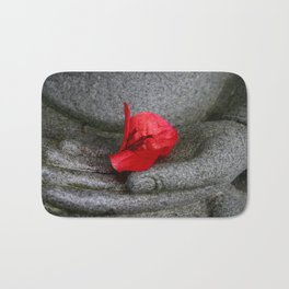 A Peace of Buddha in Photography Bath Mat