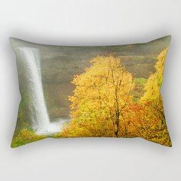 Waterfall into Fall Rectangular Pillow